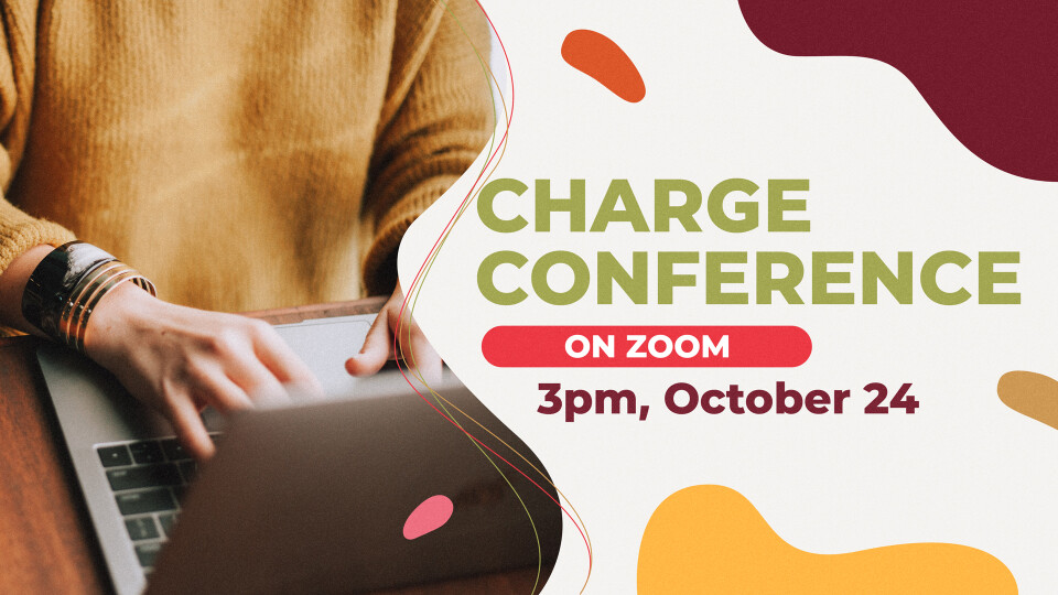 Charge Conference (on Zoom)